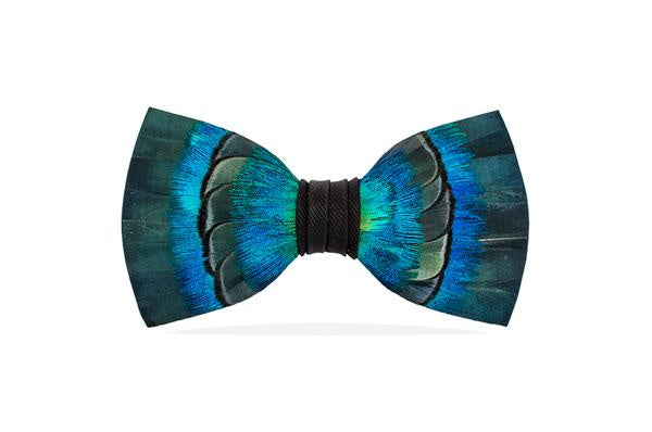 Brackish - Feather Bow Tie - Patterson