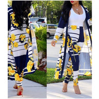 Sunflower Duster and Pant Set