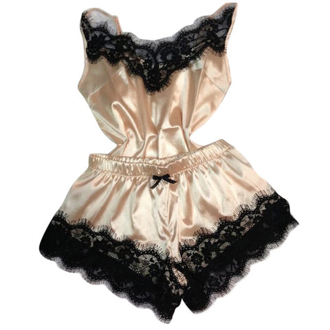Separate 2pcs Lace Sleepwear