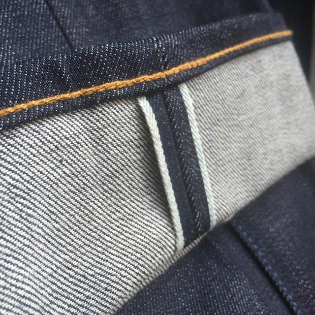 Chain Stitch Hem-Pants Purchased Elsewhere