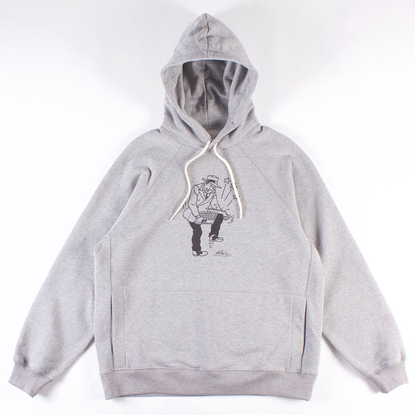 Graphic Hooded Sweatshirt - Error 404