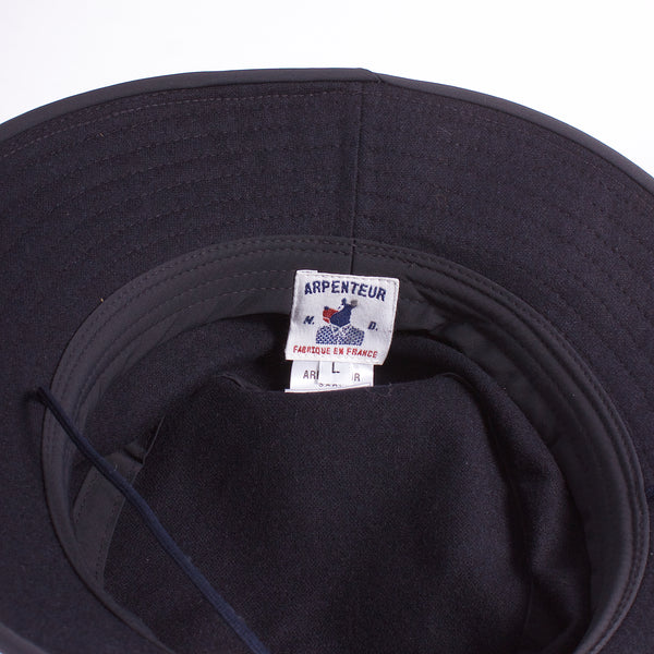 Sportive Hat - Navy Wool Flannel