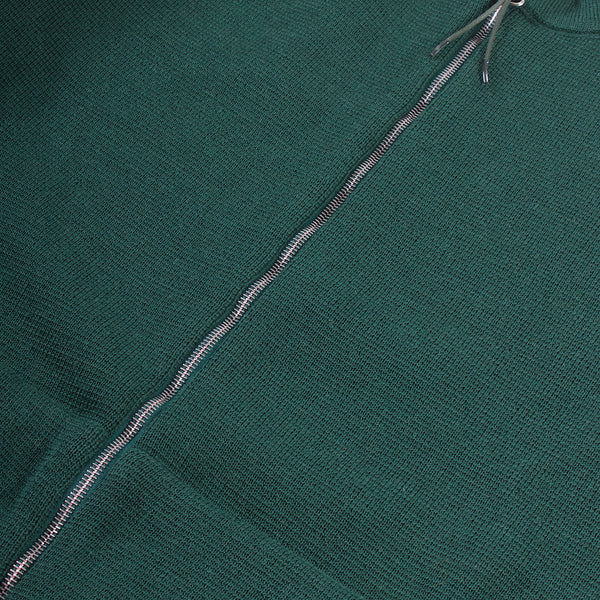 Deco Zip Cardigan - Green