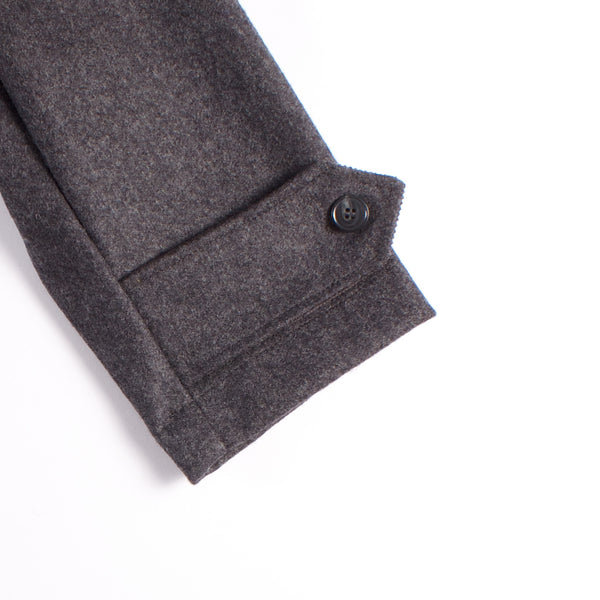 Kabig Jacket - Charcoal Melton Wool