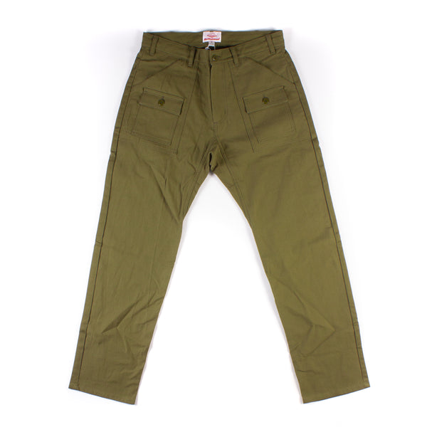 Trek Pants - Olive Sateen