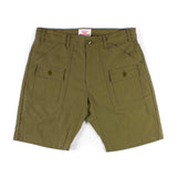 Trek Shorts - Olive Sateen
