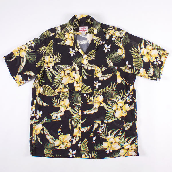 Five Pocket Island Shirt - Rayon Flower Print