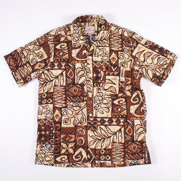 Zuma Shirt - Brown Print