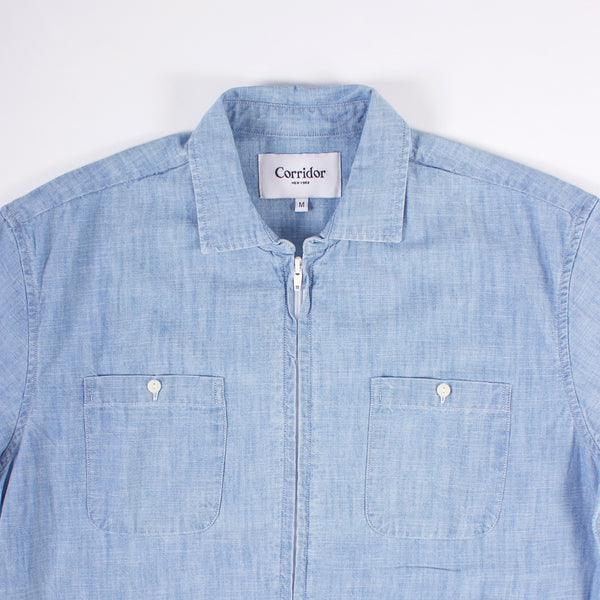 Pool jacket - Washed Chambray