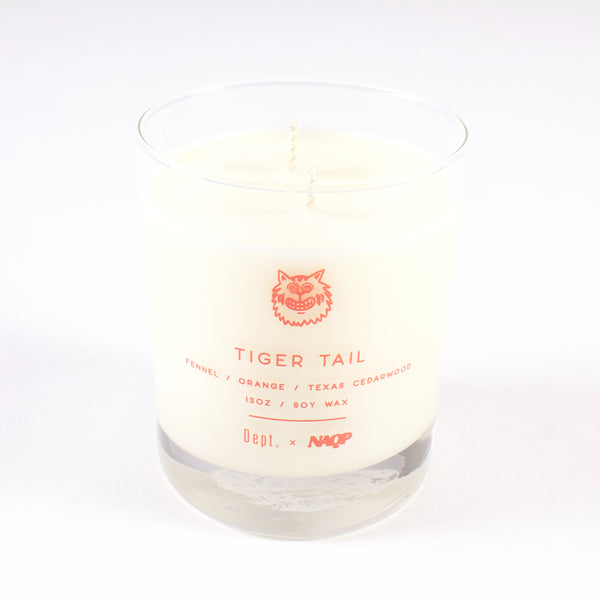 Dept. x NAQP Candle - Tiger Tail