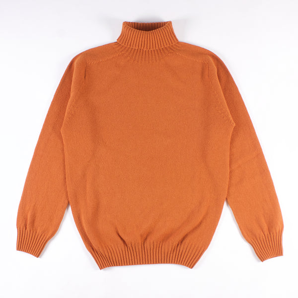 Lambswool Turtleneck Sweater - Sienna