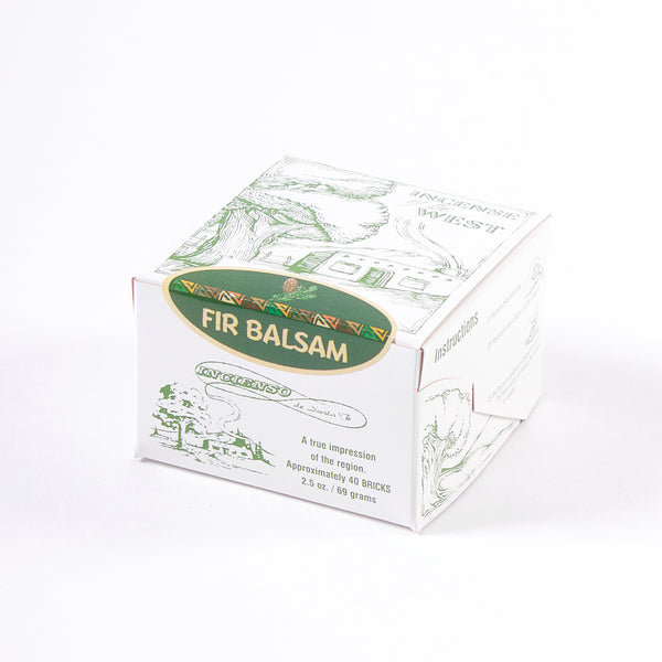 Incense x 40 Bricks - Fir Balsam