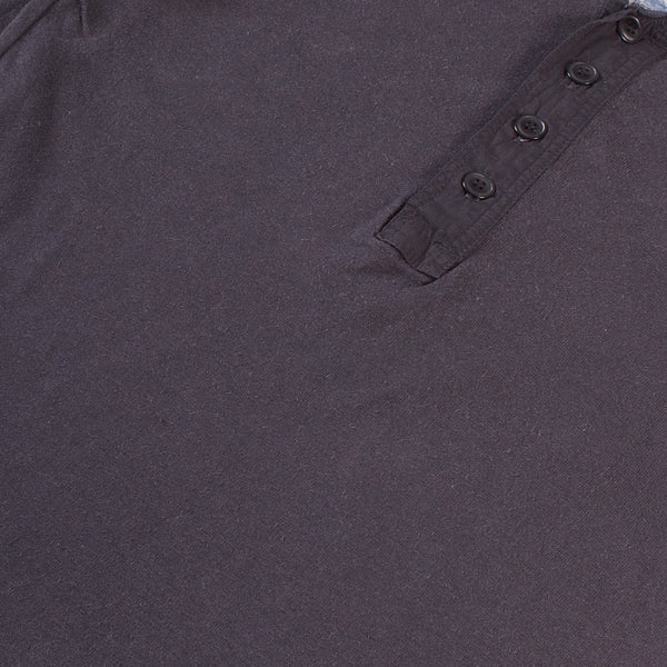 7oz Mountain Henley - Black