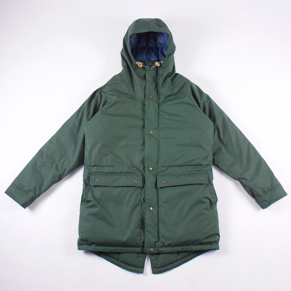 Foothills Fishtail Down Parka - Ranger Green Commander Cloth