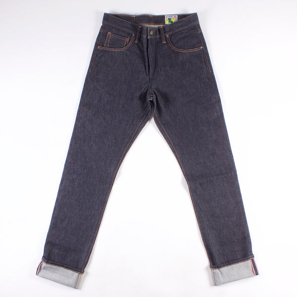 Atlas Relaxed Taper Jean - 14oz Vidalia Mills Indigo Selvedge Denim