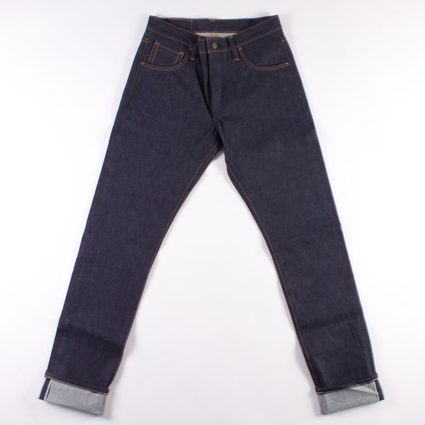 Atlas Relaxed Taper Jean - 13oz Indigo Cone Mills Selvedge Denim