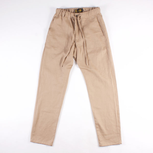 Bankview Easy Pant - Khaki 8.5 oz Hemp/Cotton Canvas