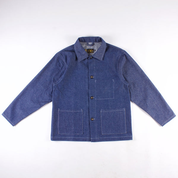 Crescent Chore Coat - 12OZ CLASSIC BLUE DENIM