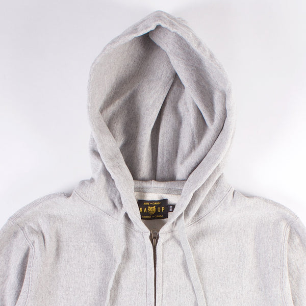 Hillhurst Zip Hoodie - Heather Grey
