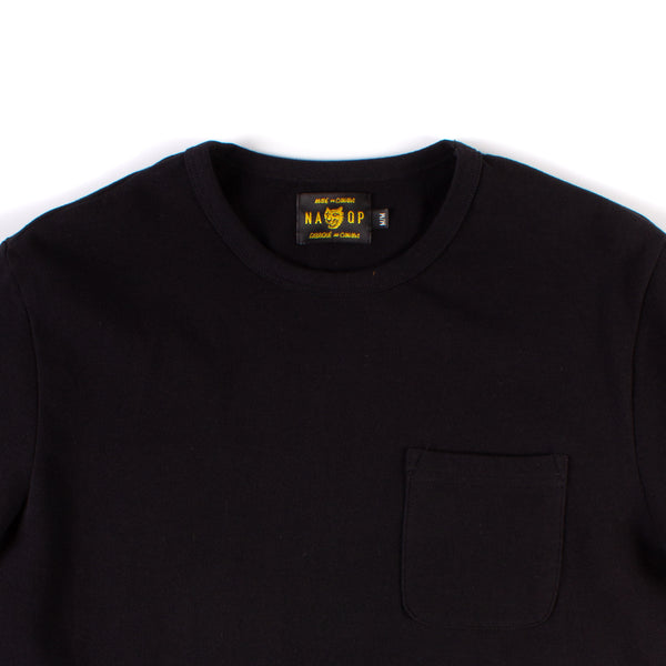 Wildwood Pocket Tee - Black