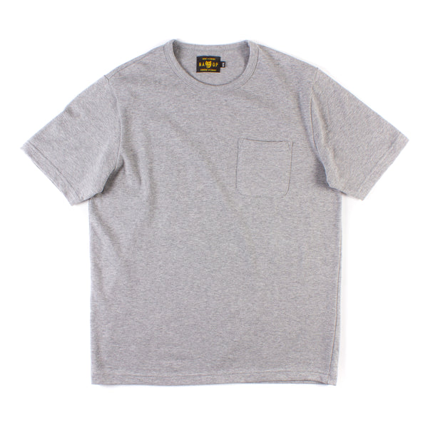 Wildwood Pocket Tee 2 Pack - Heather Grey