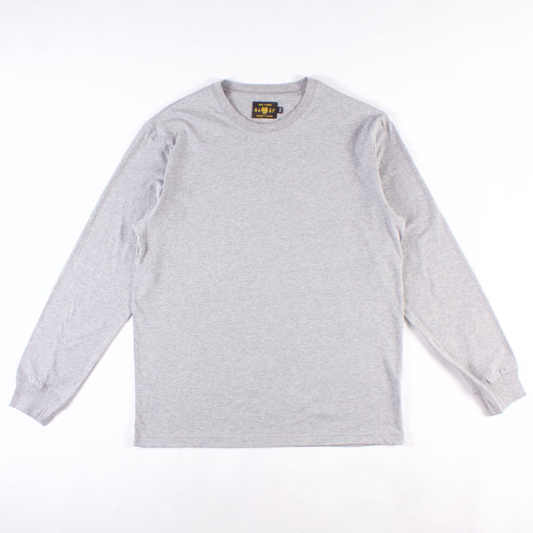 Mission Long Sleeve Tee - Heather Grey