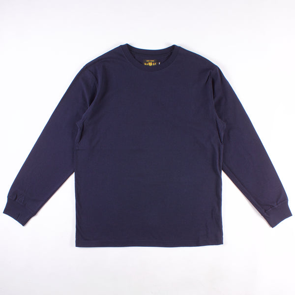 Mission Long Sleeve Tee - Navy