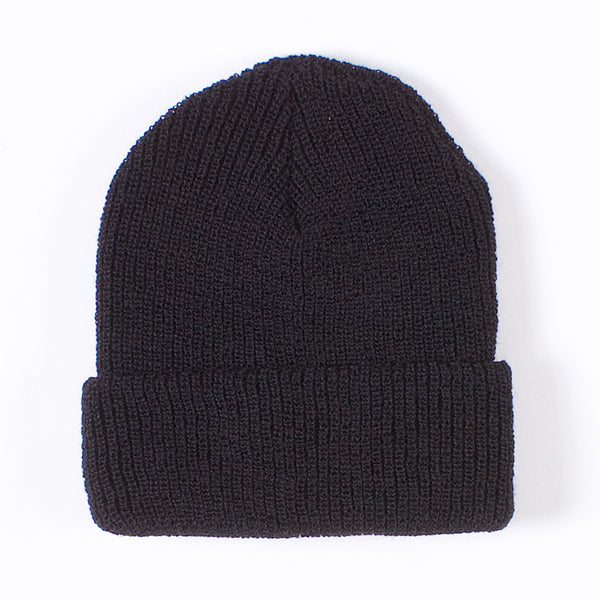 Garrison Wool Watch Cap - Black