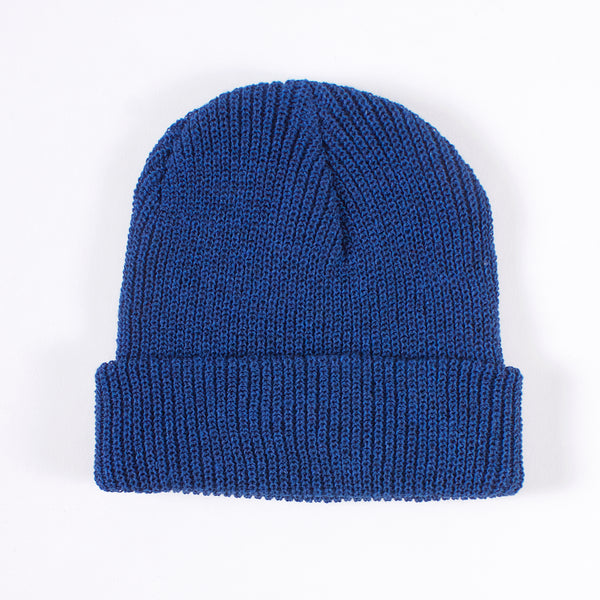 Garrison Eco-Cotton Blend Watch Cap - Cobalt