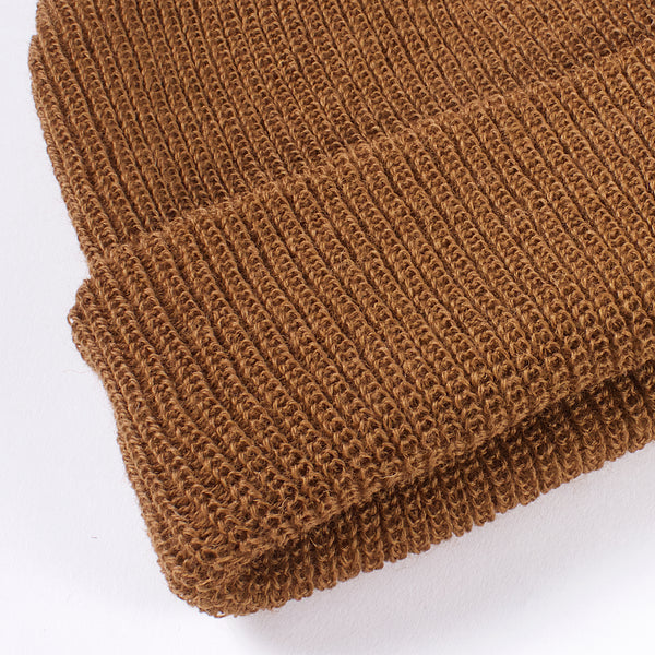 Garrison Wool Watch Cap - Copper