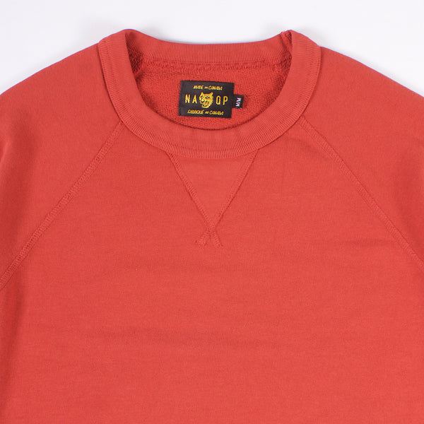 Rundle Raglan Crewneck - Paprika 14oz French Terry