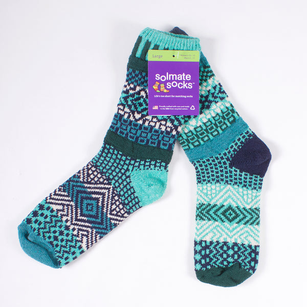 Crew Socks - Evergreen
