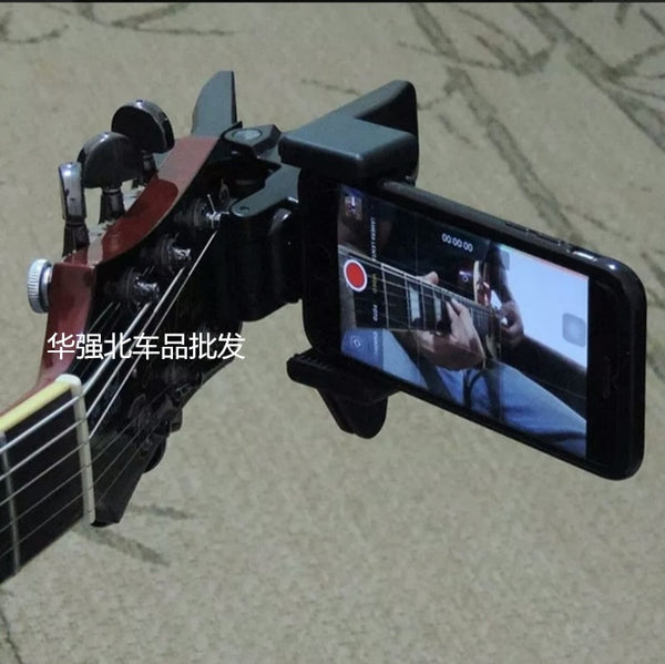 GuitarClip Mobile Phone Holder Live Broadcast Phone Bracket Stand