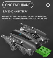 S167 GPS Drone W/ Camera 5G RC Quadcopter  HD 4K WIFI FPV Foldable Off-Point Flying Photos Video