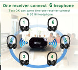 Bingle B616 Wireless FM Radio Headset Multifunction Stereo Mic FM W/Mic PC & TV