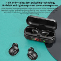 Bluetooth Earphone 5.0 Earphones Wireless Headphones TWS Headset Sports Earbuds LED Ear Buds Ear Phones Headphone For Android