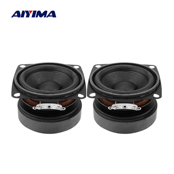 AIYIMA 2Pcs 53mm Audio Portable Speakers Full Range 15W 4 Ohm