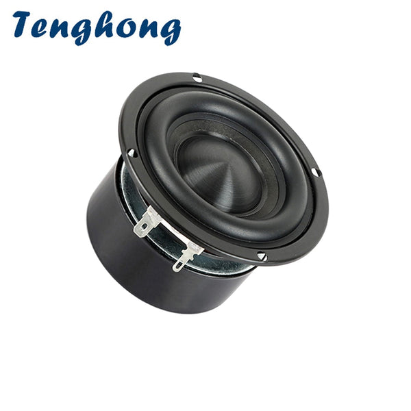 Tenghong 3 Inch HIFI Bass Speaker 4Ohm 8Ohm 25W Portable Bookshlef Subwoofer
