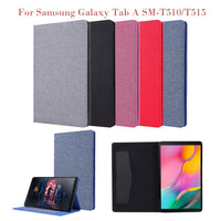 For Samsung Galaxy Tab A SM-T510/T515 10.1Inch 2019 Cover Case  Slim Cover Shockproof Tablet Protective Cover case accessories
