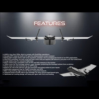 Dart250G 570mm Wingspan Sweep Forward Wing Airplane FPV Fixed Wing Drone Plane KIT/PNP