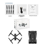 RC Camera Drone Gps Four-Axis Aerial Photography Around Flight Track Fixed Mode With HD