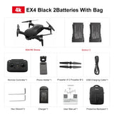 Eachine EX4 5G WIFI 1.2KM FPV GPS With 4K HD Camera 25 Mins Flight Time Brushless Motor Foldable RC Drone Quadcopter RTF VS X12
