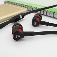 3.5mm Earphones Noodles Headsets Sport Earbuds with Microphone Headphones for Meizu Samsung Galaxy A50 for Xiaomi Redmi 8a Honor