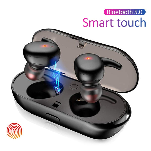 TWS Bluetooth 5.0 Wireless Earphones Sport 3D Stereo