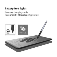 HUION H640P 6 x 4 inch Ultralight Digital Tablets Graphics Drawing Pen