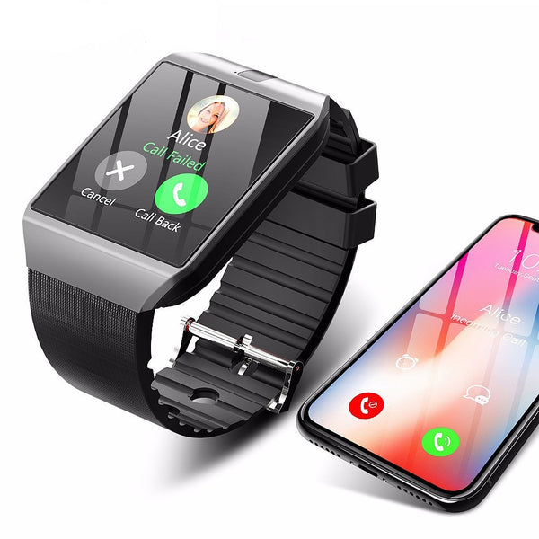 2020 New Bluetooth Smart Watch DZ09 SIM TF Card Camera