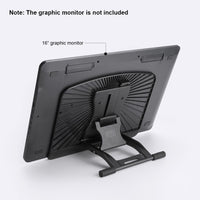 Muti-angle Foldable Tablet Adjustable Stand for 10-16 inches