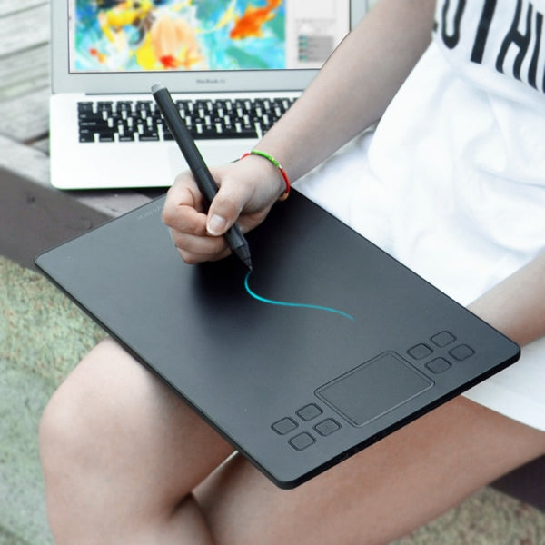 veikk a50 Digital Pen Tablet w/ 8192 Levels Passive Pen Compatible w/ most drawing software