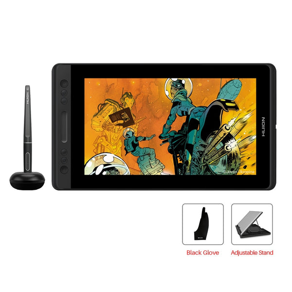 HUION Kamvas Pro 12 GT-116 Pen Tab Monitor Graphics  Monitor