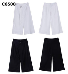C6500 Wide leg crop pants
